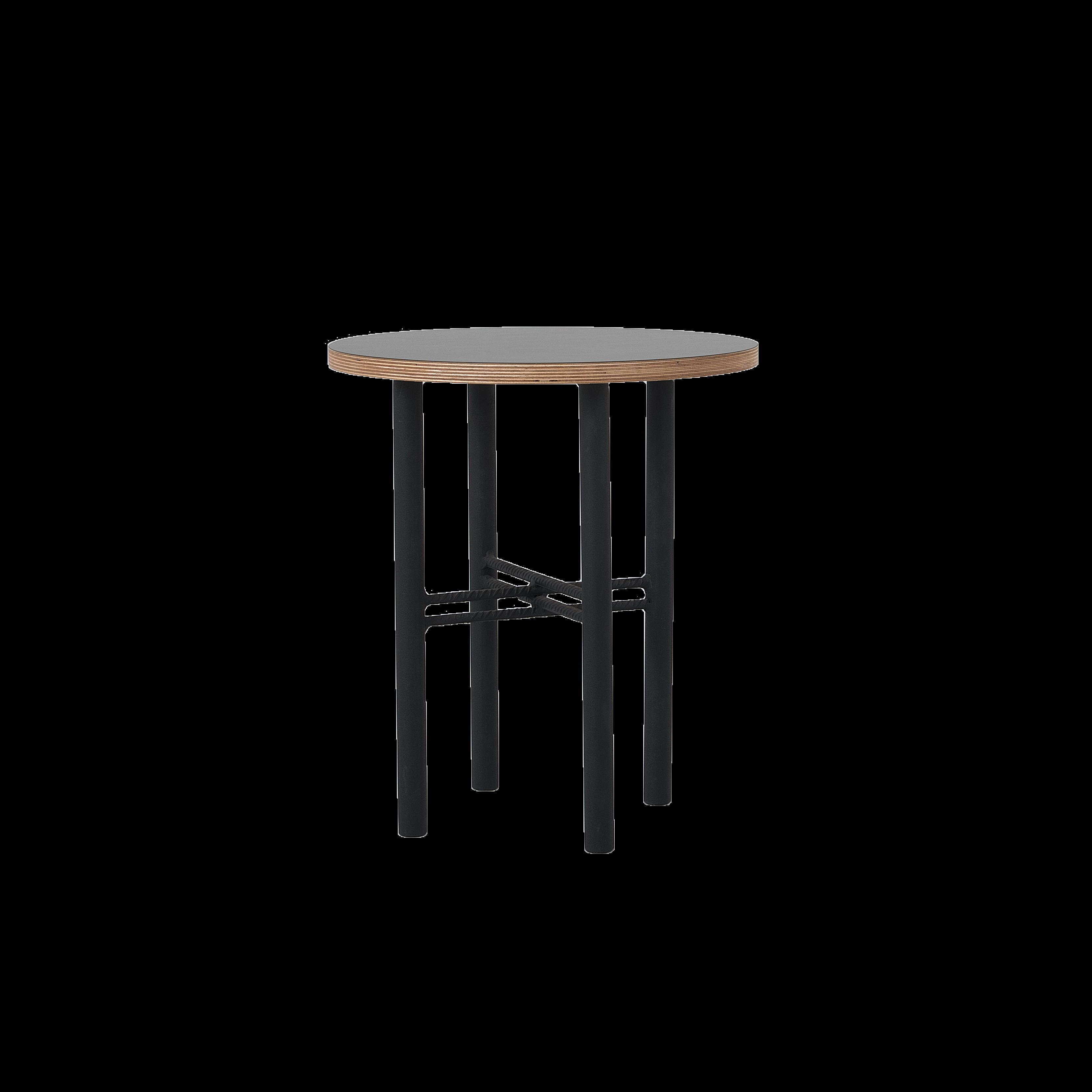 Beistelltisch Pento 40 x 40 x H 45 cm | Schwarz