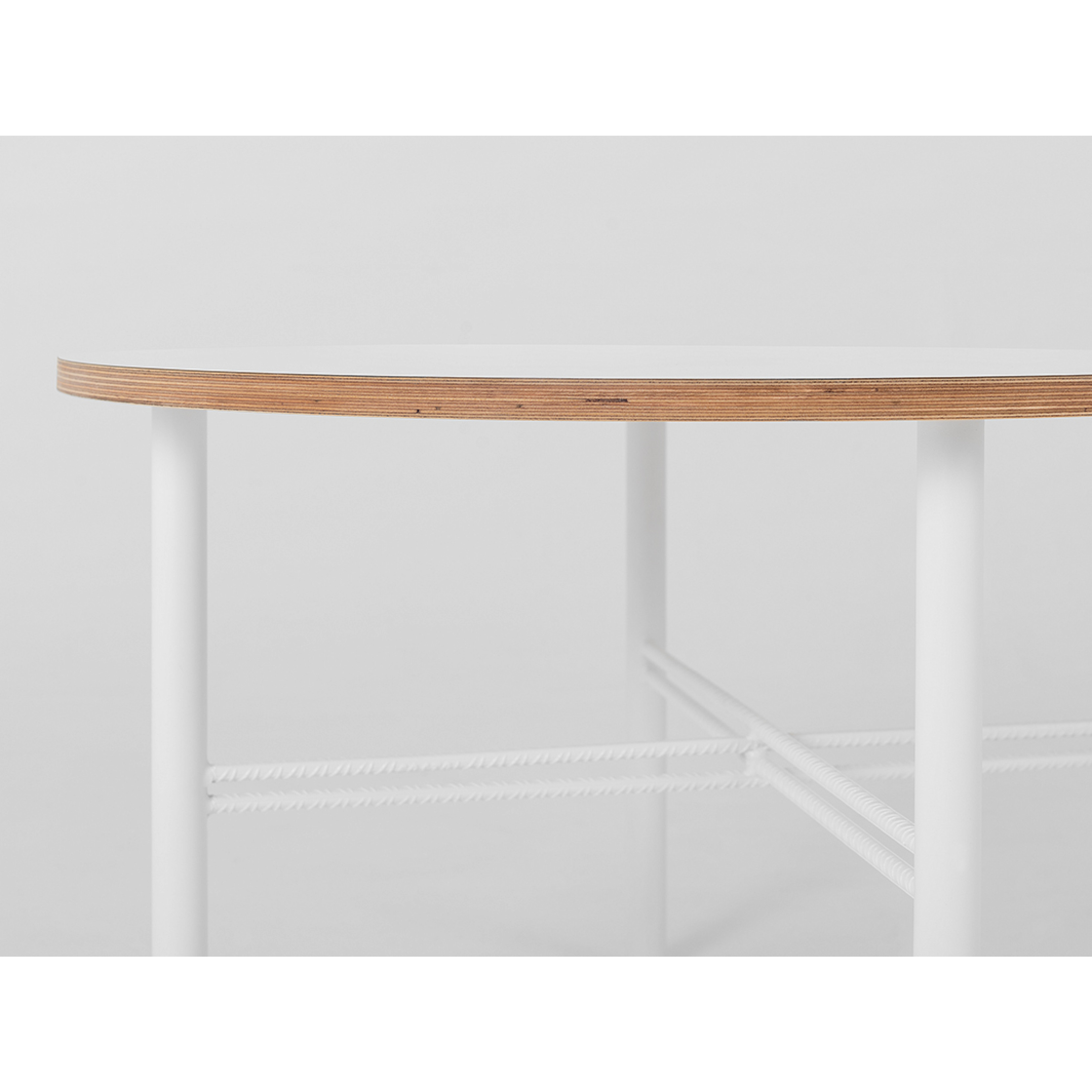 Coffee Table Pento 80 x 80 x H 45 cm   White