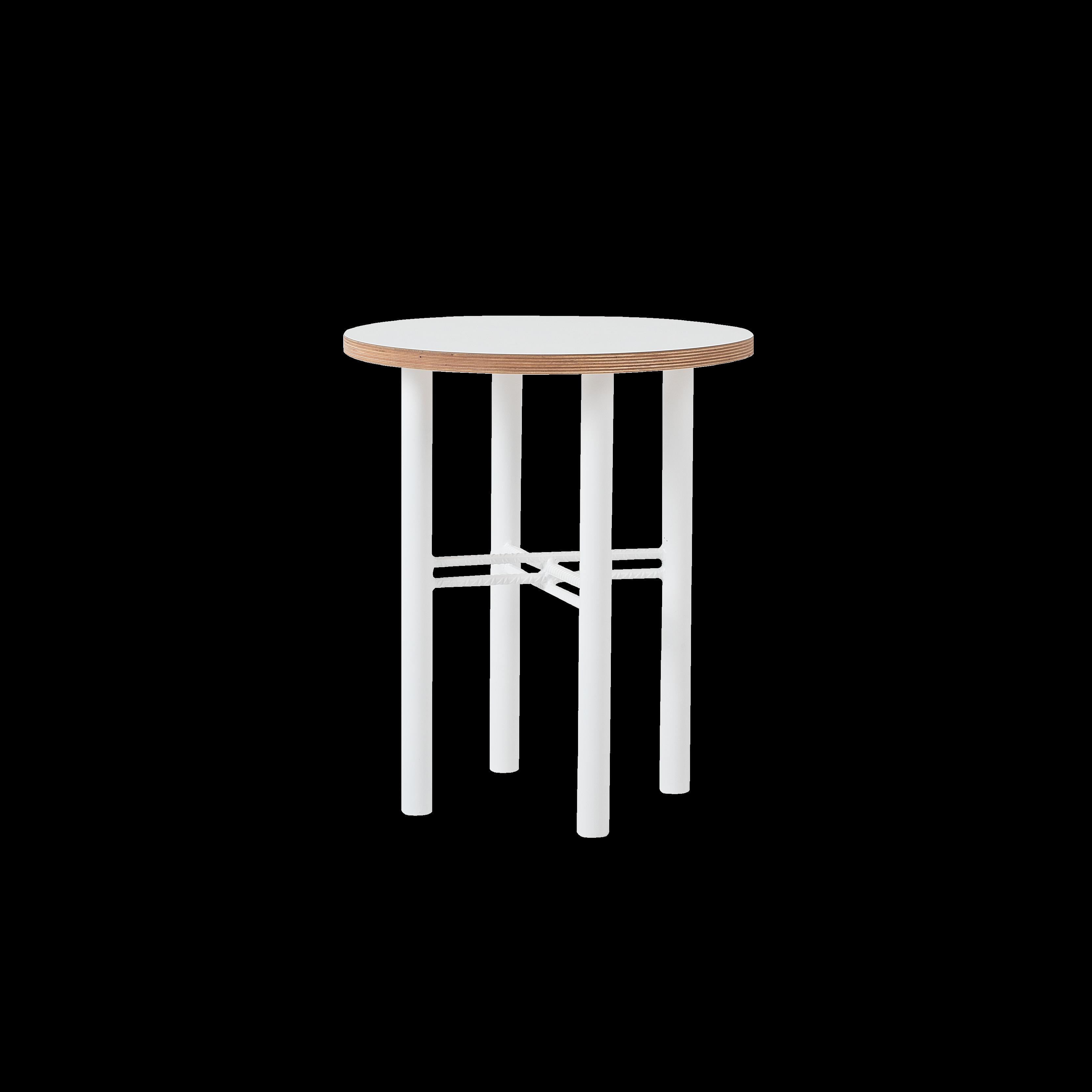 Coffee Table Pento 40 x 40 x H 45 cm | White