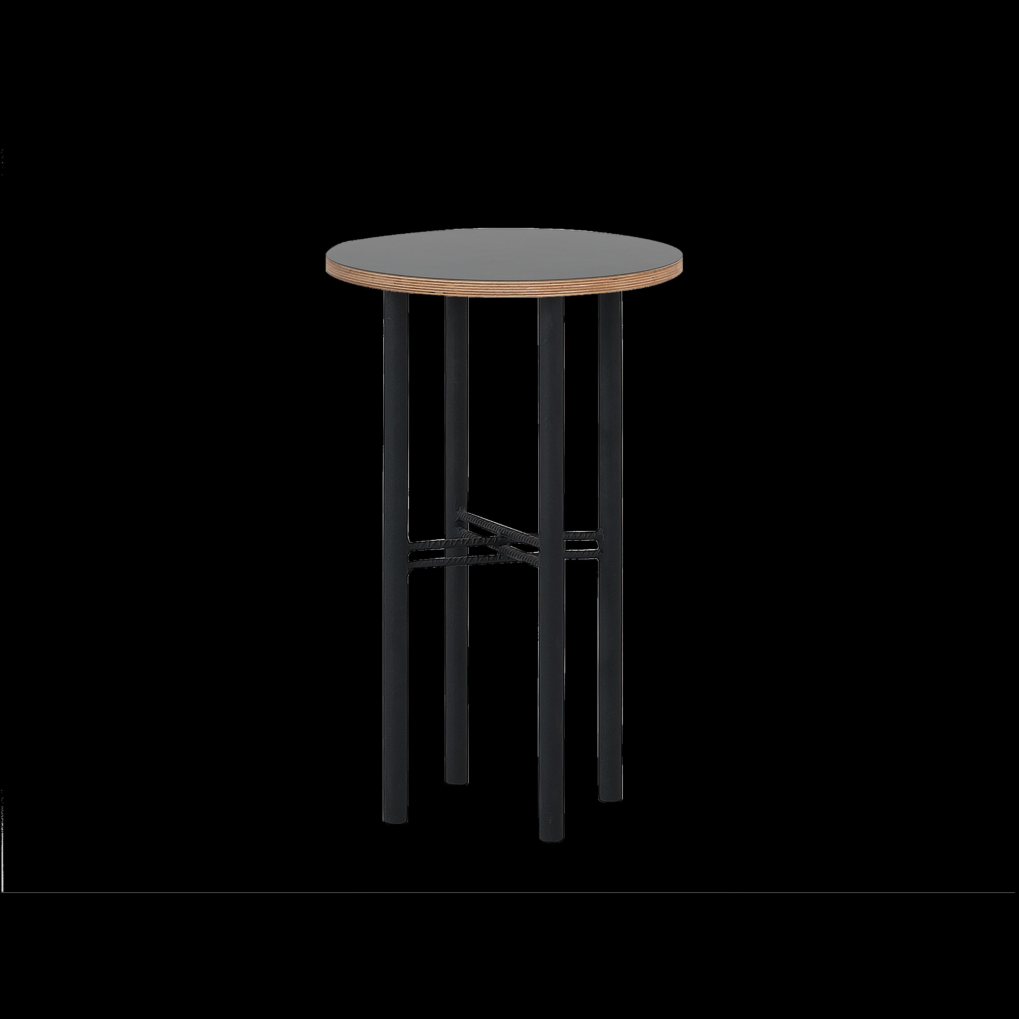 Coffee Table Pento 40 x 40 x H 60 cm | Black