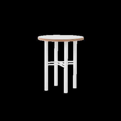 Beistelltisch Pento 40 x 40 x H 45 cm | Weiß