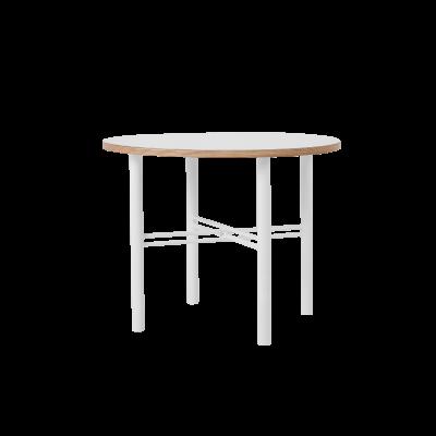 Beistelltisch Pento 60 x 60 x H 45 cm | Weiß