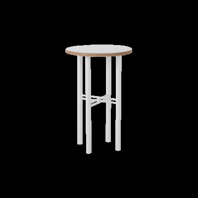 Beistelltisch Pento 40 x 40 x H 60 cm | Weiß