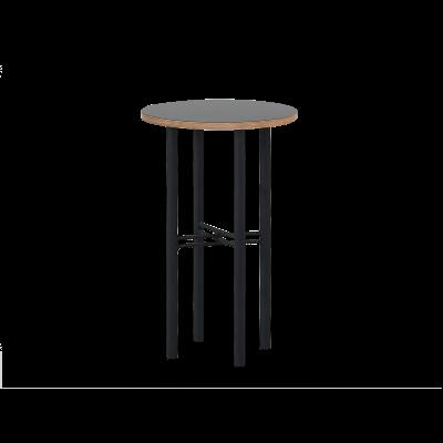 Beistelltisch Pento 40 x 40 x H 60 cm | Schwarz