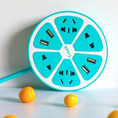 Ladestation Zitrone | Blau
