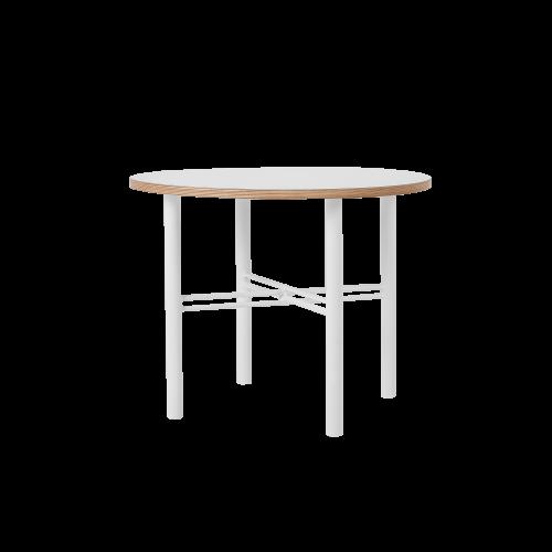 Coffee Table Pento 60 x 60 x H 45 cm | White