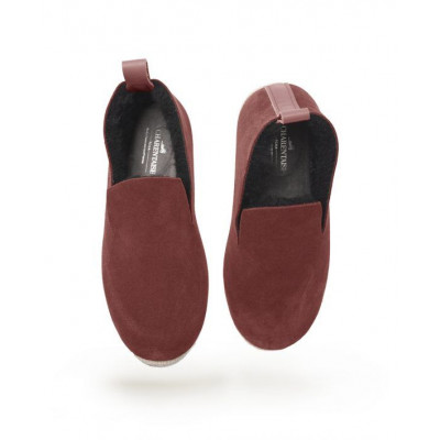 WOOLY Leather Velvet | Malvarosa