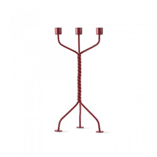 Kerzenhalter Twisted | Rot