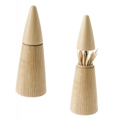 Zahnstocherspender Scalpium | Helles Holz
