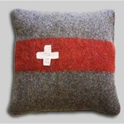 Kissen Schweizer Armeedecke