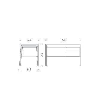 Der MINT-Schreibtisch | Nussbaum
