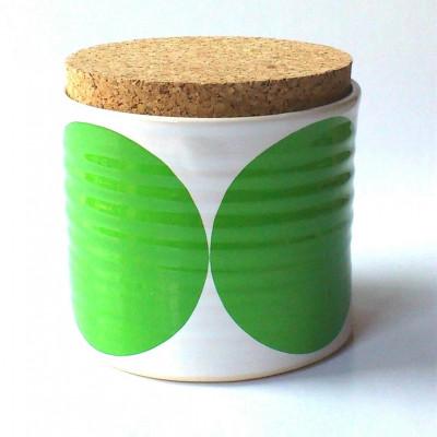 Glasrondellen   Grün