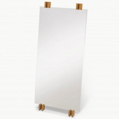 Cutter Mirror | Teak