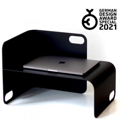 Schreibtisch-Organizer Uniunit S   Schwarz