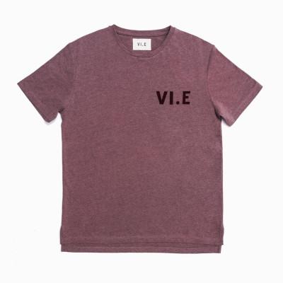 VI.E T-Shirt | Mahogany