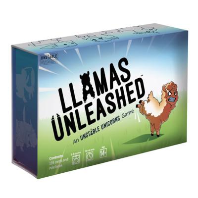 Kartenspiel   Lamas entfesselt