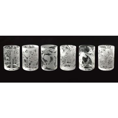 6er-Set Teelichter Tischgeschichten