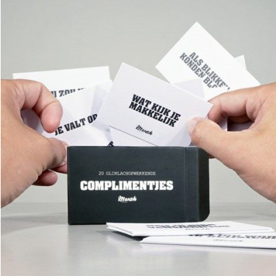 Text Gift 'Complimentjes'