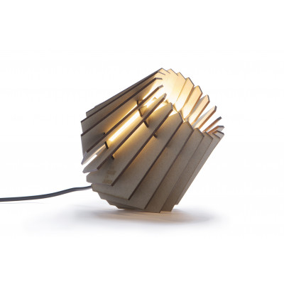 Tischlampe Mini-spot | Weiches Grau