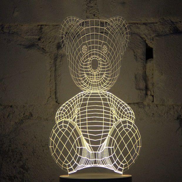 Bulbing Lamp #TeddyBear