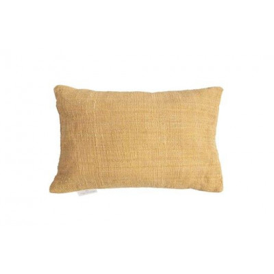 Handgewebtes Kissen Jute 60 x 40 cm | Gelb