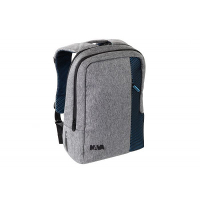 Backpack Small | Grey - Arctic Blue