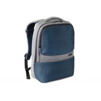 Backpack | Grey - Artic Blue