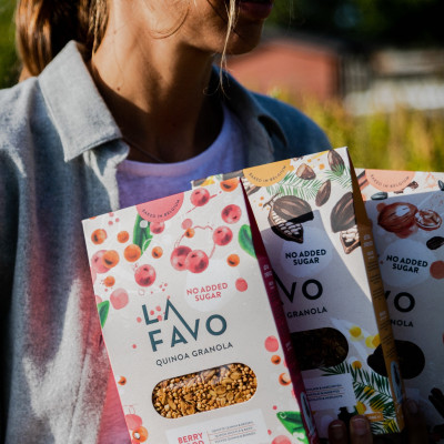 Geschenkpaket Quinoa Granola Original | 3er-Set