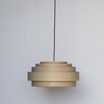 Thin Wood Pendelleuchte   Medium