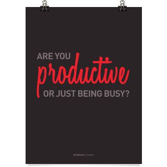 Are You Productive