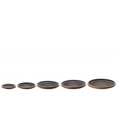 Bamboo Plates Black