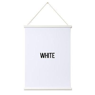 Magnetic Print Frame | White
