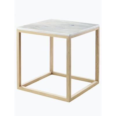 Eichenholzwürfel-Tisch | Klein
