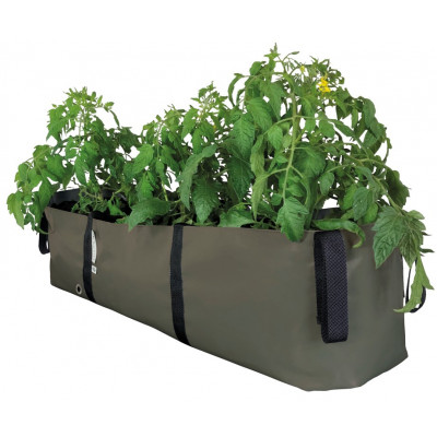 Plant Bag 'BLOCK' L 75 cm | Olive Green