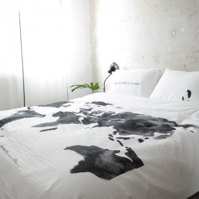 The World Is Yours Duvet Cover Set