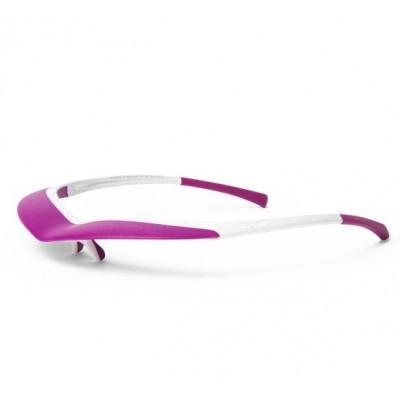 Sun Visor   White & Purple