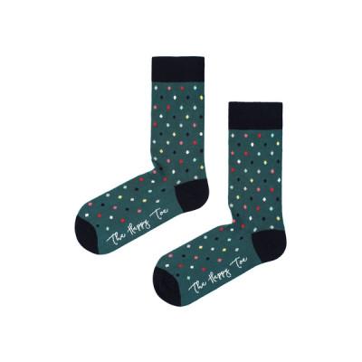 Unisex-Socken | Small Dots Hunter Grün