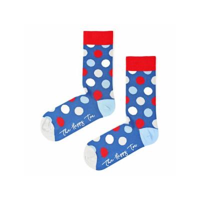 Unisex-Socken | Huge Dots | Blau