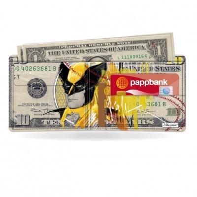 Klassische Brieftasche   Der Wolf