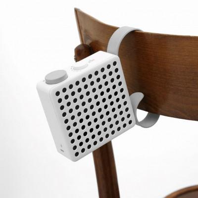 Drahtloser Lautsprecher Der Affe | Weiß