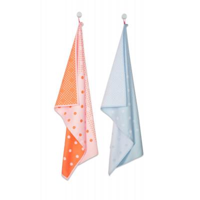 Tea Towel   Big Dots (Set of 2)