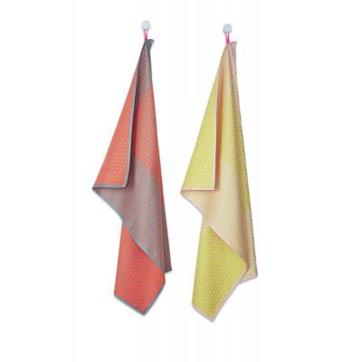 Tea Towel   Layer Dots (Set of 2)