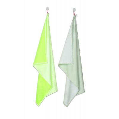Tea Towel   Block Dots (Set of 2)