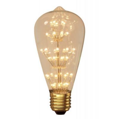 Calex Pearl LED Rustic lamp 240V 2W E27, 47-leds 2100K