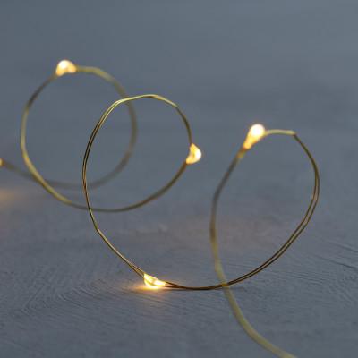 Leuchtschnur Knirke 20 LED-Lampe | Gold