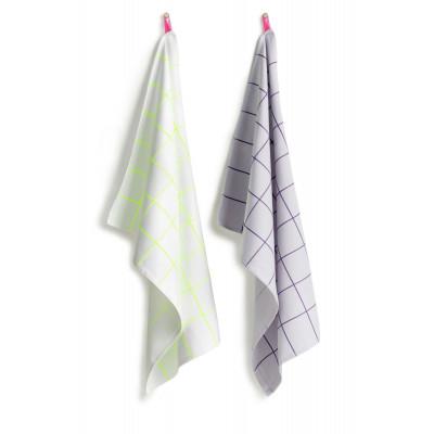 Tea Towel   Kitchen Tiles (Set of 2)