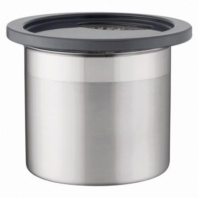 Kanister 12 x 11 cm   Metallisch