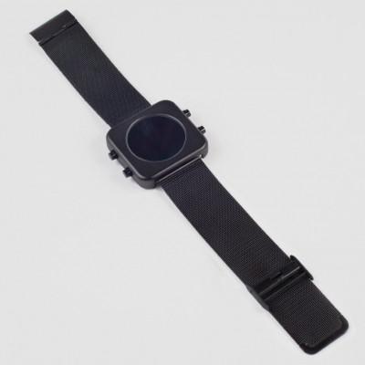Circa Watch | Mesh, Black Case, Black