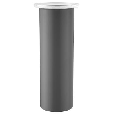 Kanister 10 x 30 cm   Metallisch