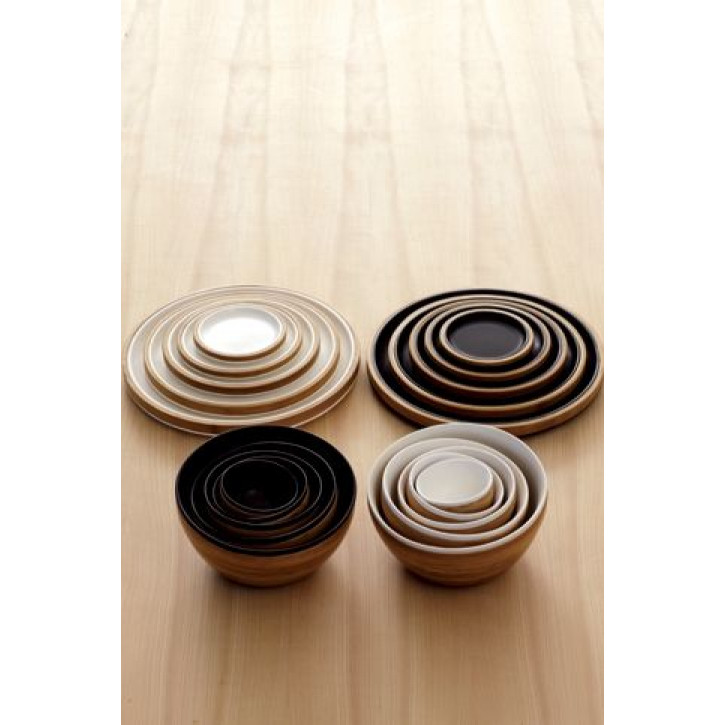 Bamboo Plates White